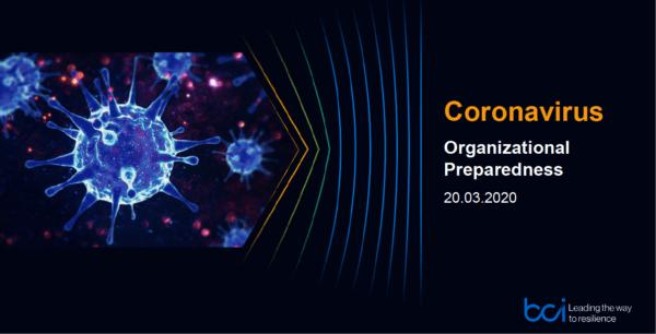 Corona virus BCM pandemieplan